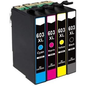 COMPATIBLE EPSON - 603XL Multi-pack de 4 cartouches génériques
