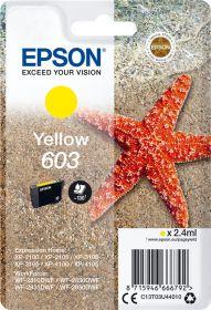 EPSON ORIGINAL - Epson 603 Jaune (2,4 ml) Cartouche de marque T03U44010