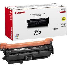 CANON ORIGINAL - Canon 732 Jaune (6400 pages) Toner de marque