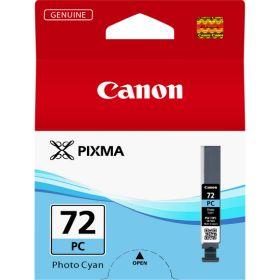 CANON ORIGINAL - Canon PGI-72 photo Cyan (14 ml) Cartouche de marque