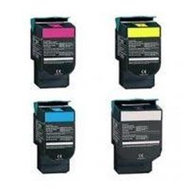 RECYCLE LEXMARK - 702H Pack Promo de 4 Toners remanufacturés