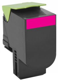COMPATIBLE LEXMARK - 802HM Magenta (3000 pages) Toner remanufacturé grande capacité