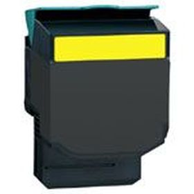 RECYCLE LEXMARK - 702HY / 70C2HY0 Jaune (3000 pages) Toner remanufacturé