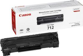 CANON ORIGINAL - Canon 712 Noir (1500 pages) Toner de marque