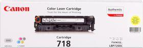 CANON ORIGINAL - Canon 718 Jaune Toner de marque
