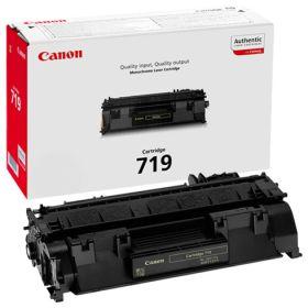 CANON ORIGINAL - Canon 719 Noir (2100 pages) Toner de marque
