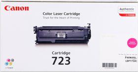 CANON ORIGINAL - Canon 723 Magenta (8500 pages) Toner de marque