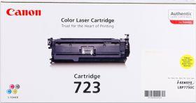 CANON ORIGINAL - Canon 723 Jaune (8500 pages) Toner de marque