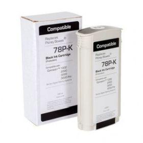 COMPATIBLE PITNEY BOWES - 78P-K Cartouche d'encre recyclée origine Pitney Bowes® pour Connect+ 1000, 2000, 3000