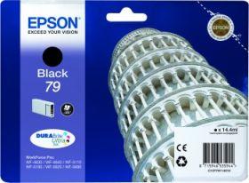 EPSON ORIGINAL - Epson 79 Noire (14,4 ml) Cartouche de marque T7911