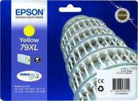 EPSON ORIGINAL - Epson 79XL Jaune (17,1 ml) Cartouche de marque T7904