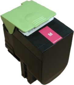 COMPATIBLE LEXMARK - 80C2SM0 magenta (2000 pages) Toner remanufacturé