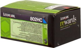 LEXMARK ORIGINAL - Lexmark 80C2HC0 Cyan (3000 pages) Toner de marque