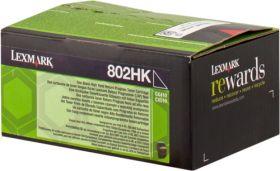 LEXMARK ORIGINAL - Lexmark 80C2HK0 Noir (4000 pages) Toner de marque