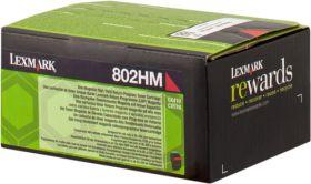 LEXMARK ORIGINAL - Lexmark 80C2HM0 Magenta (3000 pages) Toner de marque