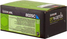 LEXMARK ORIGINAL - Lexmark 80C2SC0 Cyan (2000 pages) Toner de marque
