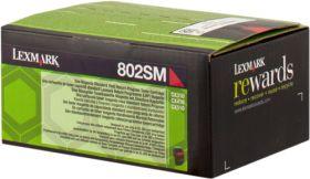 LEXMARK ORIGINAL - Lexmark 80C2SM0 Magenta (2000 pages) Toner de marque