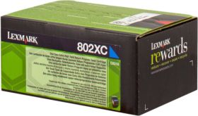 LEXMARK ORIGINAL - Lexmark 80C2XC0 Cyan (4000 pages) Toner de marque