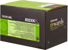 LEXMARK ORIGINAL - Lexmark 80C2XK0 Noir (8000 pages) Toner de marque