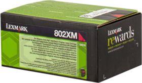 LEXMARK ORIGINAL - Lexmark 80C2XM0 Magenta (4000 pages) Toner de marque