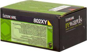 LEXMARK ORIGINAL - Lexmark 80C2XY0 Jaune (4000 pages) Toner de marque