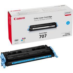 CANON ORIGINAL - Canon 707 Cyan (2000 pages) Toner de marque