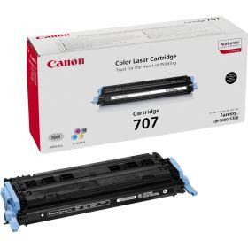 CANON ORIGINAL - Canon 707 Noir (2500 pages) Toner de marque