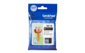 BROTHER ORIGINAL - Brother LC-3213 Noir (400 pages) Cartouche de marque