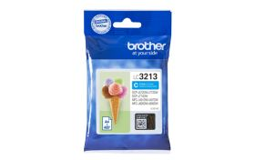 BROTHER ORIGINAL - Brother LC-3213 Cyan (400 pages) Cartouche de marque