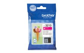 BROTHER ORIGINAL - Brother LC-3213 Magenta (400 pages) Cartouche de marque