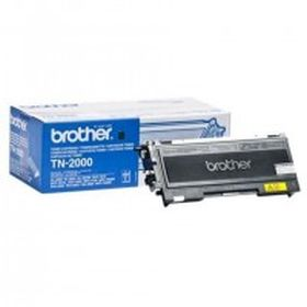 BROTHER ORIGINAL - Brother TN-2000 Noir (2500 pages) Toner de marque