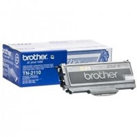 BROTHER ORIGINAL - Brother TN-2110 Noir (1500 pages) Toner de marque