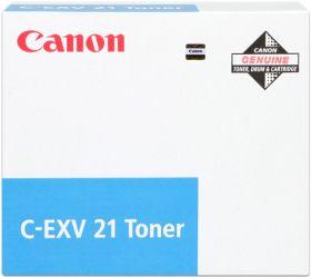 CANON ORIGINAL - Canon C-EXV 21 Cyan (14000 pages) Toner de marque