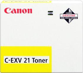 CANON ORIGINAL - Canon C-EXV 21 Jaune (14000 pages) Toner de marque