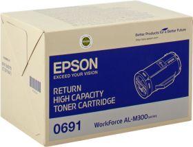 EPSON ORIGINAL - Epson S050691 Noir (10000 pages) Toner de marque