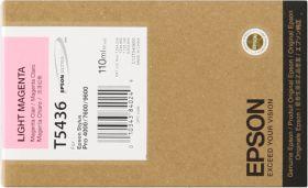 EPSON ORIGINAL - Epson T5436 Magenta clair (110 ml) Cartouche de marque