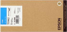 EPSON ORIGINAL - Epson T5962 Cyan (350ml) Cartouche de marque