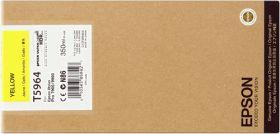EPSON ORIGINAL - Epson T5964 Jaune (350ml) Cartouche de marque