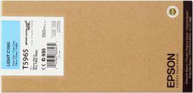 EPSON ORIGINAL - Epson T5965 Cyan clair (350ml) Cartouche de marque