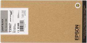EPSON ORIGINAL - Epson T5967 Gris (350ml) Cartouche de marque