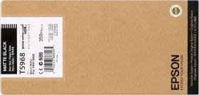 EPSON ORIGINAL - Epson T5968 Noir mat (350ml) Cartouche de marque
