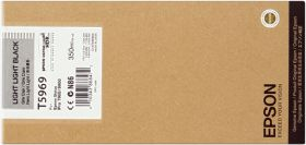 EPSON ORIGINAL - Epson T5969 Gris clair (350ml) Cartouche de marque