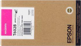 EPSON ORIGINAL - Epson T602B Magenta Vif (110ml) Cartouche de marque
