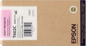 EPSON ORIGINAL - Epson T602C Magenta clair Vif (110 ml) Cartouche de marque