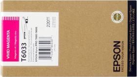 EPSON ORIGINAL - Epson T6033 Magenta vif (220 ml) Cartouche de marque