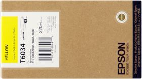 EPSON ORIGINAL - Epson T6034 Jaune (220 ml) Cartouche de marque