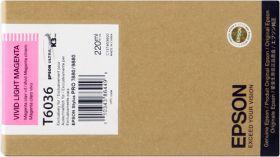 EPSON ORIGINAL - Epson T6036 Magenta clair (220 ml) Cartouche de marque