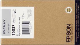 EPSON ORIGINAL - Epson T6037 Gris (220 ml)Cartouche de marque