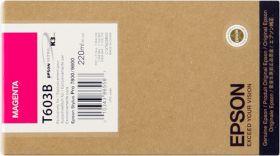 EPSON ORIGINAL - Epson T603B Magenta (220 ml) Cartouche de marque