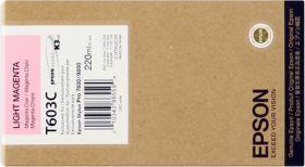 EPSON ORIGINAL - Epson T603C Magenta clair (220 ml) Cartouche de marque